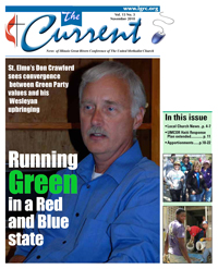 Cover of November 2010 issue of The Current