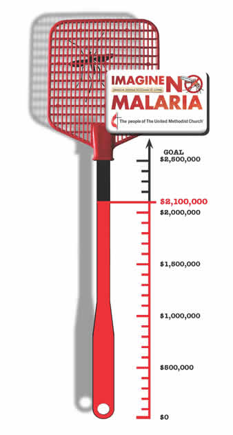 Imagine No Malaria giving through Aug. 31, 2013