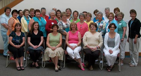Attendees of Parish Nurse Retreat at Chiara Center