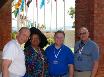 IGRC Delegation at Africa University