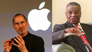 Steve Jobs and Rev. Fred Shuttlesworth