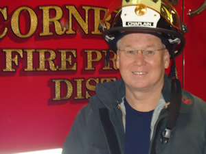 Cornbelt Fire Department Chaplain Glen Bocox