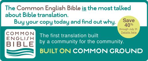 Common English Bible Banner