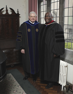GETS President Philip Amerson and Bishop Gregory V. Palmer