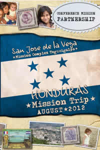August 2012 Mission Trip to Honduras brochure cover
