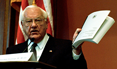 Former Illinois Gov. George Ryan