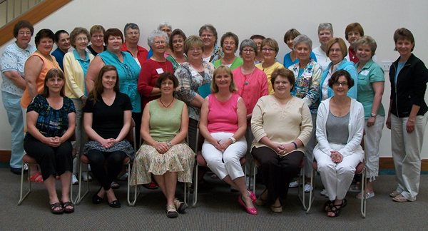 Attendees of Parish Nurse Retreat at Chiara Center