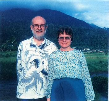 Rev. Dale and Alice Walker circa 1985