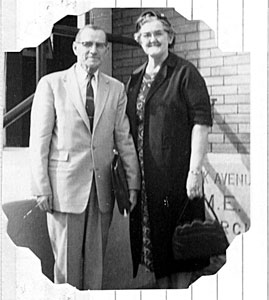 Rev. C.C. and Agnes Lowe