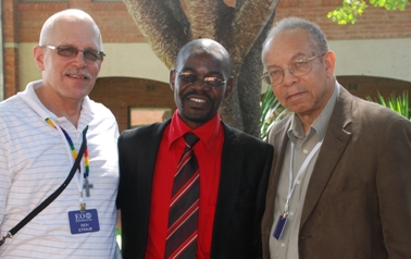 Richard Straub, IGRC Africa University Chair; Ivan Milosi and Bishop Jonathan D. Keaton