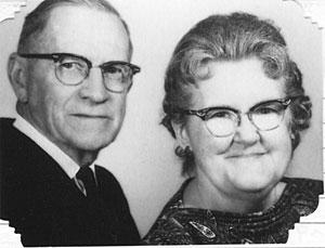 Rev. C. C. and Agnes Lowe