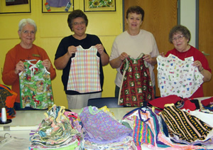 Sewing for Missions ministry of Good Shepherd Parish