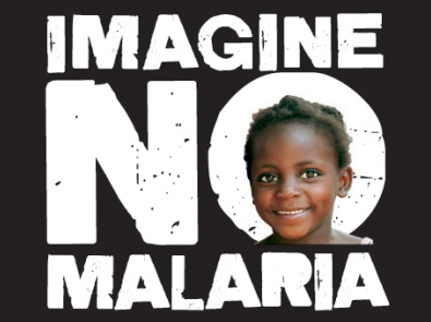 Imagine No Malaria logo
